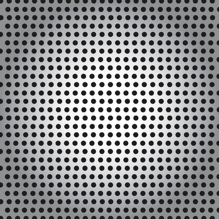 speaker grille: Perforated Metal Pattern Background Illustration