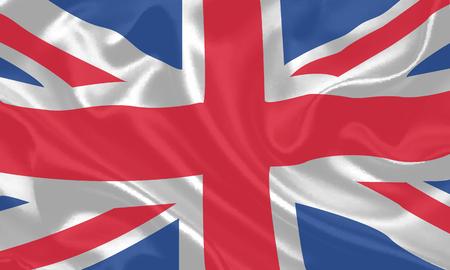 english culture: Waving flag of United kingdom background