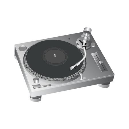 Turntable DJ Style Icon vector 2 Ilustração