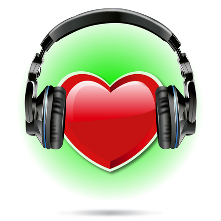 I love Music Modern Style Background
