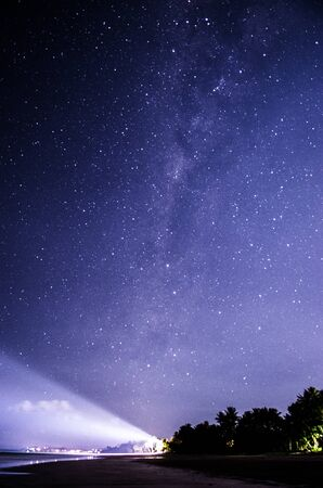 Starry Sky and Lighthouse in Mission Beach Queensland