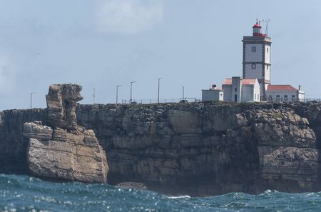 rock formation peniche seaside municipality oeste region estremadura province portugal