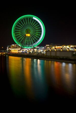 Ferris Wheel: Yokohama Japan Stock Photo