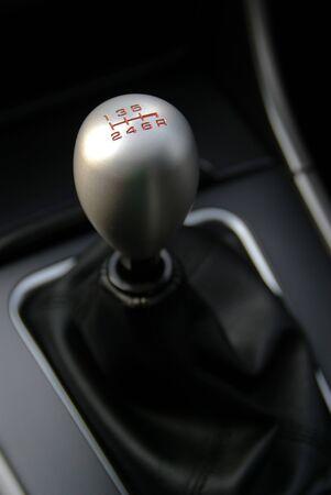 palanca de cambios: Deportes interior de coches, Gear Shifter met�licos