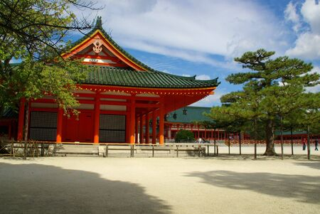 Heian-Jingu Shrine; Kyoto, Japan