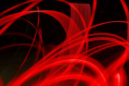 Abstract Red Blur