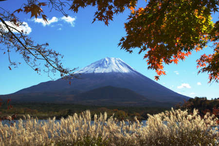 Picturesque Fuji Stock Photo