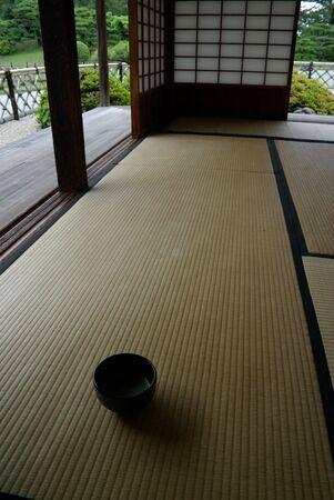 tea house: Traditional Japanese Tea House: Interior