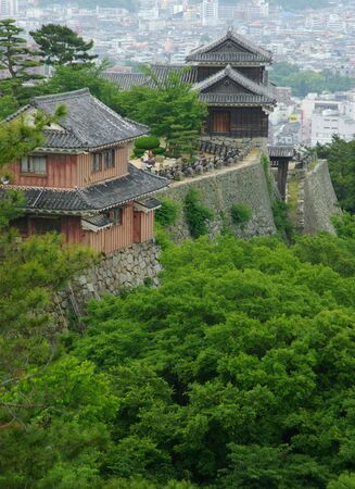 Matsuyama Castle and City Editorial