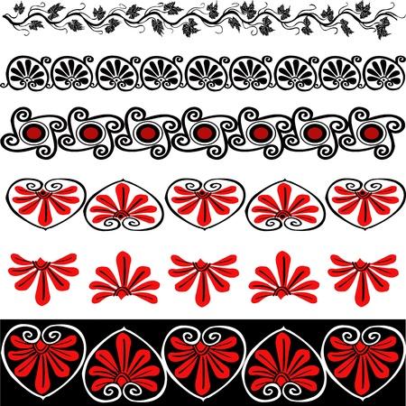 Design elements against white background Stock Vector - 9751150