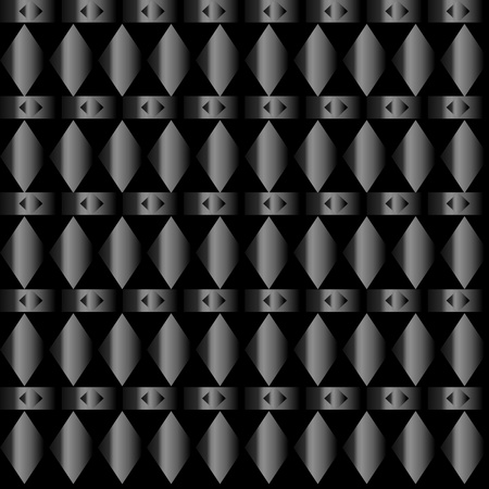 Seamless diamond and trot pattern over gradient pattern Vector
