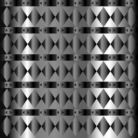 drafje: Naadloze diamant en draf patroon over verlopend patroon