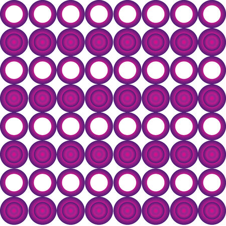 powerfull: Seamless cyrcle pattern with purple gradient