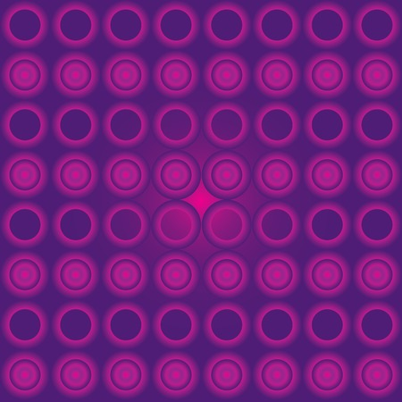 Seamless cyrcle pattern with purple gradient