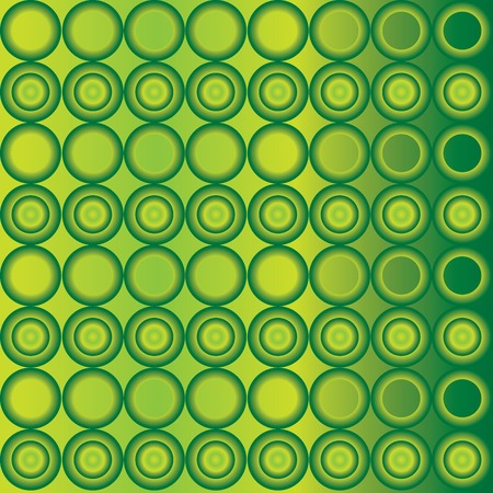 cyrcle: Seamless cyrcle pattern with green gradient