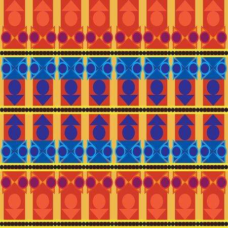 drafje: Rombhus; draf; en lijn patroon met achtergrond en oranje achtergrond