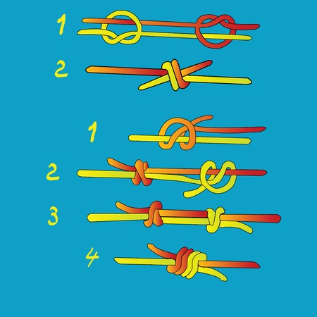 Fishermans knot and Double Fishermans knot