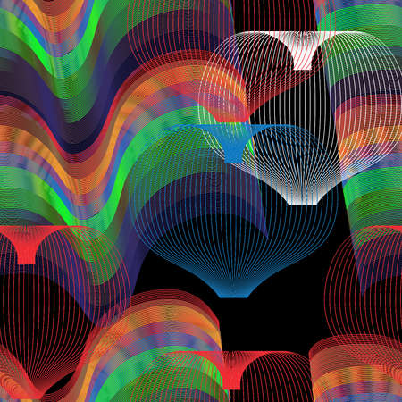 Design colorful abstract background made with bend