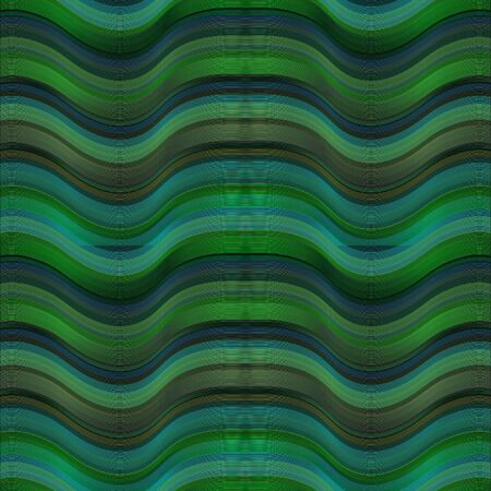 Seamless green and blue psychedelic background design