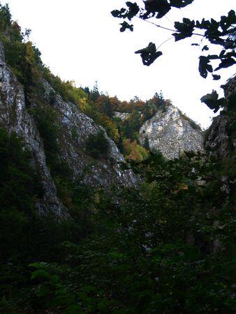 Mountain landscape in Piatra Craiului