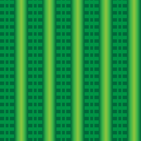 Abstract background with green gradient and green lines Ilustrace