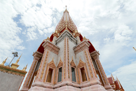 chalong: Wat Chalong Thai temple Stock Photo