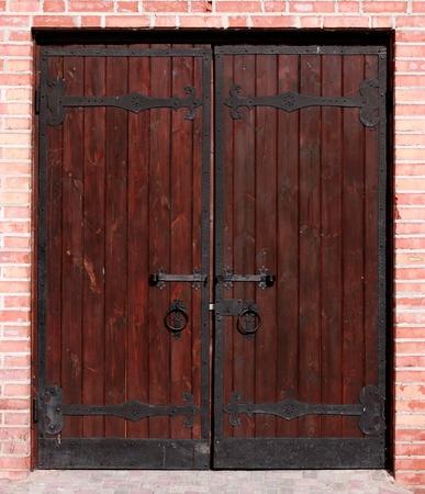 Antique door Stock Photo