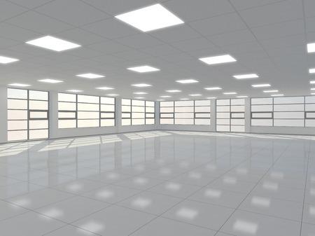 空のオフィス