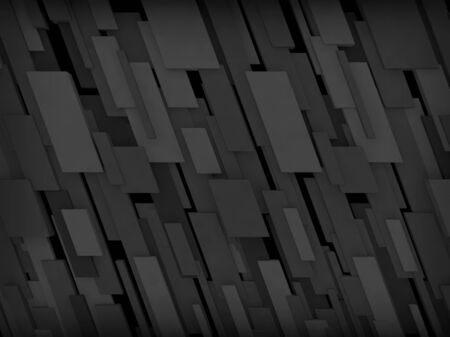 tron: Abstract background of rectangles of different sizes Stock Photo