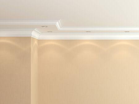 cornice: Ceiling cornice
