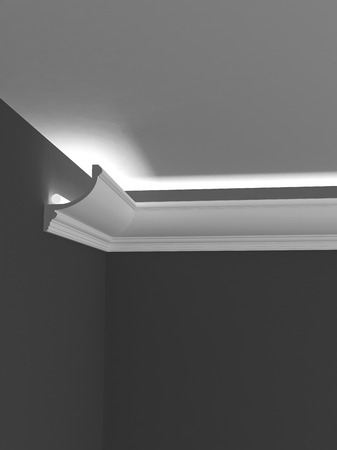sconce: Ceiling cornice