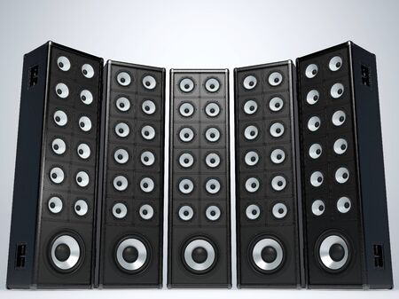 bass: Great audio speakers
