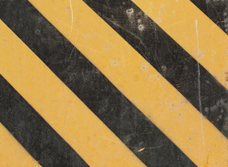 hazard: Black Yellow Hazard Stripes