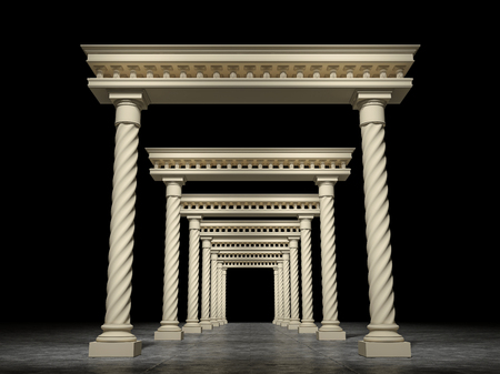 portals: The dark space in which there are many classical portals