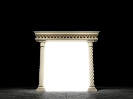 portal: Glowing portal in classic style