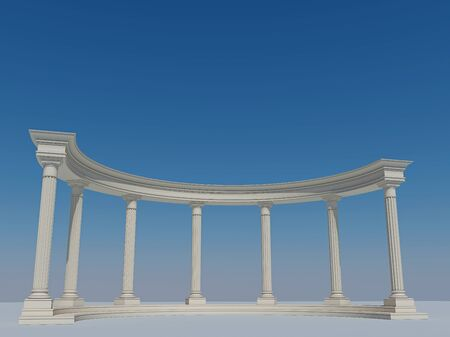 colonnade: Great colonnade