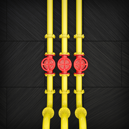 Backgrounds of Industrial pipe valve