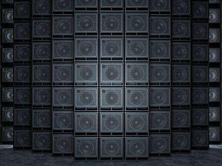 overdrive: Wall of guitar amps