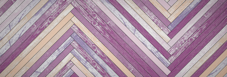 Backgrounds of bright, colorful old boards. 3D Render