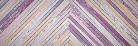 timber floor: Backgrounds of bright, colorful old boards. 3D Render