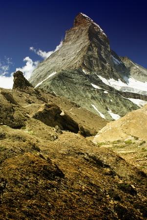 views of the Matterhorn - Swiss Alps