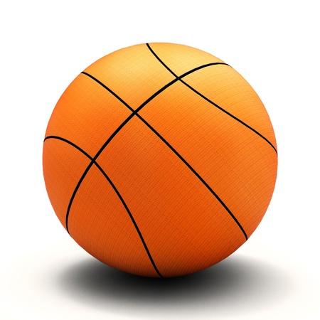 basket ball: Canasta Foto de archivo