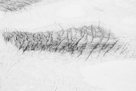 crevasse: Glacier crevasse