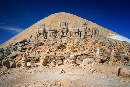 Nemrut Dagi 산, 터키에있는 과거 장소