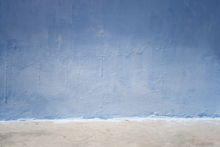 blue wall background Stock Photo