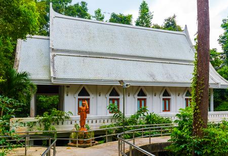 Wat Nam Tok Hin Lat Temple in the Koh Samui Island in Thailand