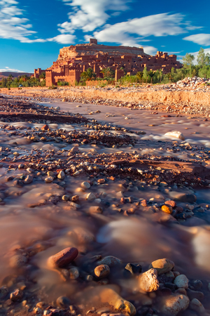 Beautiful ancient old city Ait Benhaddou near Ouarzazate, Atlas, Morocco