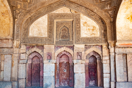 India, New Delhi, Sheesh Gumbad, 30 Mar 2019 - Sheesh Gumbad tomb from the last lineage of the Lodhi Dynasty, situated in Lodi Gardens city park Imagens