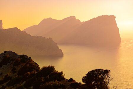 Cap de Formentor in Mallorca at sunset Reklamní fotografie