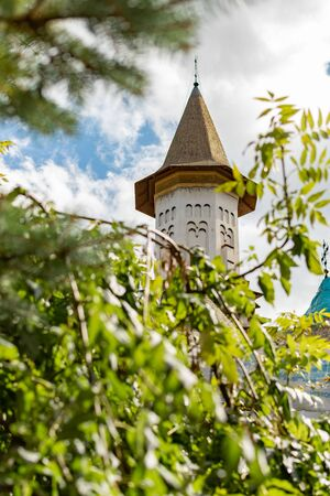 Gorgeous summer scene of Sucevita Monastery, a Spectacular morning view of Eastern Orthodox Church, Bukovina region, Romania, Europe Reklamní fotografie